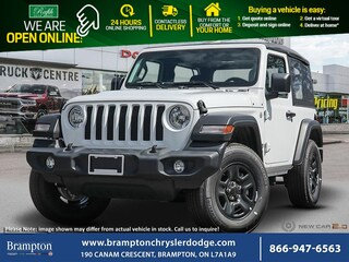 2020 Jeep Wrangler Sport *Black Jeep Freedom Top* *8-Speed Automatic* SUV