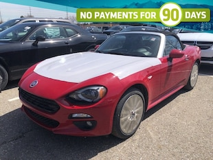 2019 FIAT 124 Spider Lusso|CONVERTIBLE|LEATHER|TURBOCHARGED 1.4L|AUTO Convertible