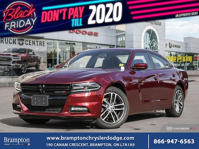 2019 Dodge Charger SXT PLUS*AWD*NAV*SUNROOF*LEATHER*BLIND SPOTS*CLEAN CARFAX* Sedan
