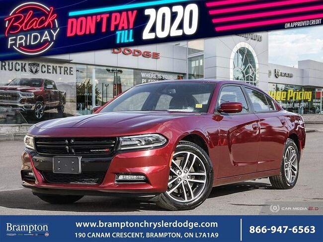 2019 Dodge Charger SXT PLUS*AWD*NAV*SUNROOF*LEATHER*BLIND SPOT DETECTOR* Sedan