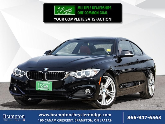 2016 BMW 4 Series 428XI*ONE OWNER*NO ACCIDENT*FULLY LOADED*BLACK ON RED* Coupe