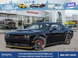 2019 Dodge Challenger Scat Pack 392 Widebody Coupe