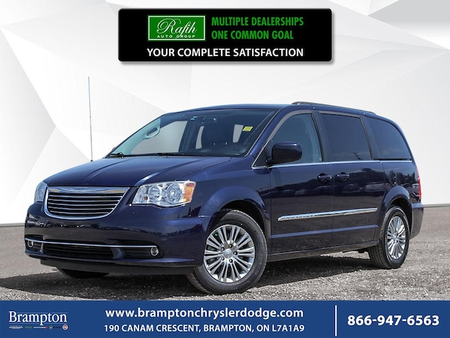 2015 Chrysler Town & Country TOURING-L|LEATHER|REMOTE START|POWER SLIDING DOORS|POWERED TAILGATE|BACKUP CAMERA Minivan/Van