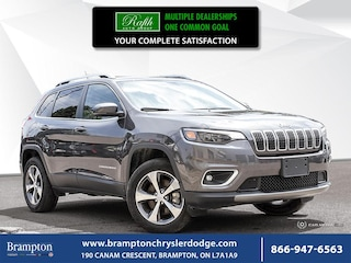 2019 Jeep Cherokee LIMITED 4X4|PROXIMITY KEY|LEATHER|8.4 INCH UCONNEC SUV