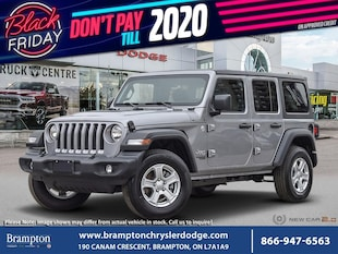 2020 Jeep Wrangler Unlimited Unlimited Sport S SUV