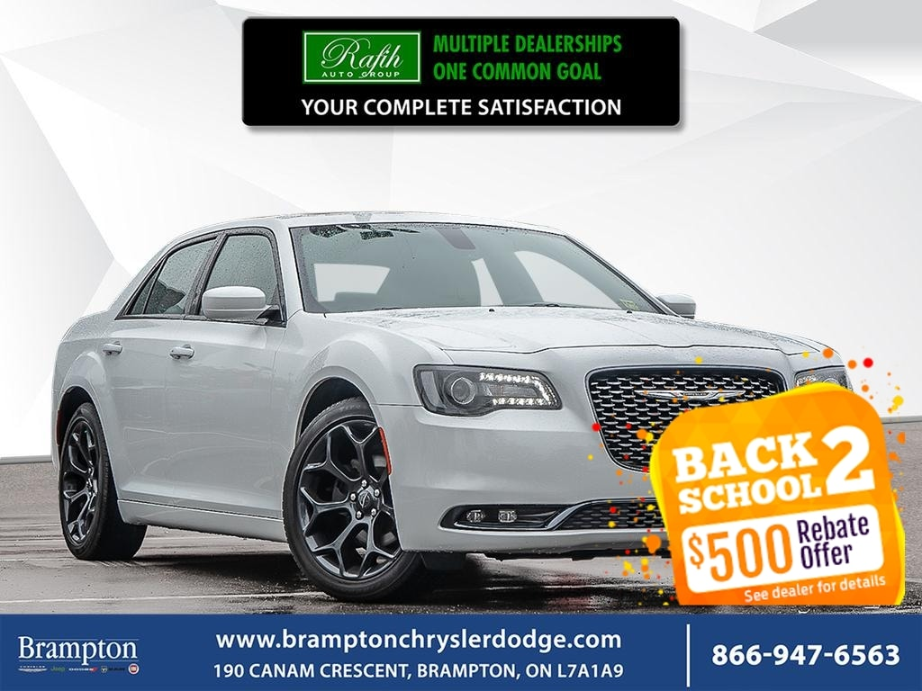 2019 Chrysler 300 S*NO ACCIDENT*PANORAMIC ROOF*LEATHER*NAV* Berline