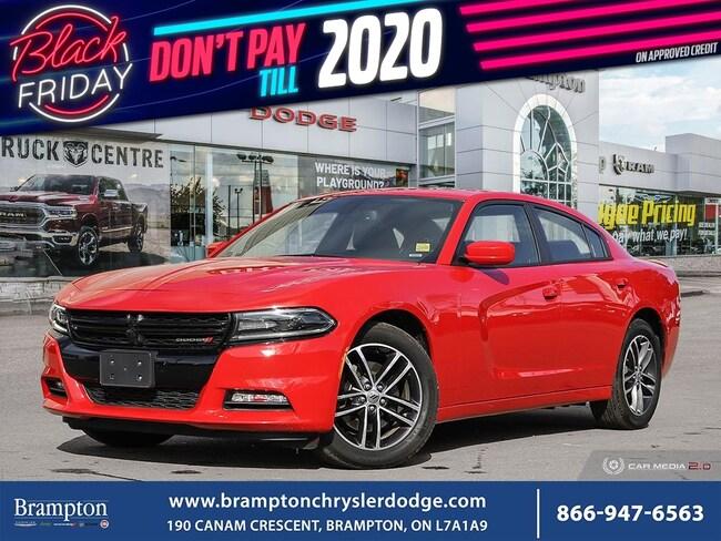 2019 Dodge Charger SXT PLUS*AWD*NAV*SUNROOF*LEATHER*BLIND SPOTS* Sedan