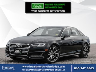2017 Audi A4 TECHNIK*QUATTRO*S LINE SPORT*NO ACCIDENT*FLAT BOTTOMED STEERING*NAV*LEATHER*7 SPEED* Sedan