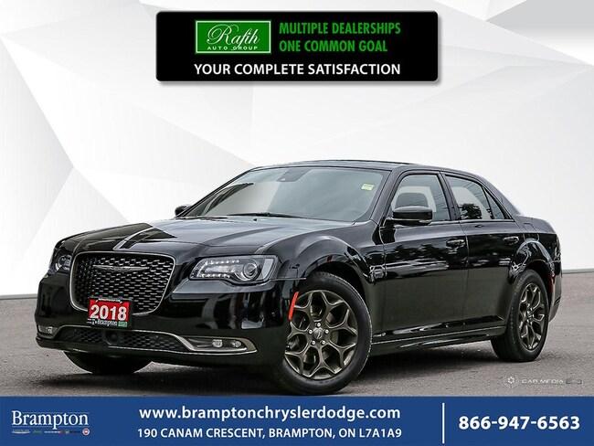 2018 Chrysler 300 S-PREMIUM*AWD*NO ACCIDENT*SAFETYTEC*NAV*LEATHER* Sedan
