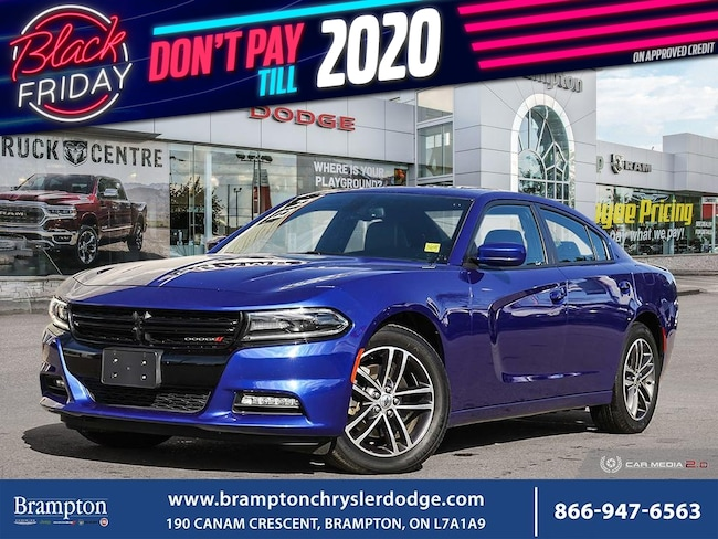 2019 Dodge Charger SXT PLUS*AWD*NAV*SUNROOF*LEATHER*CLEAN CARFAX* Sedan