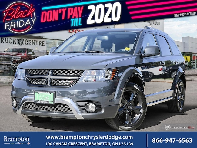2018 Dodge Journey CROSSROAD*7 PASSENGER*AWD*DVD*NAV*LEATHER*SUNROOF* SUV