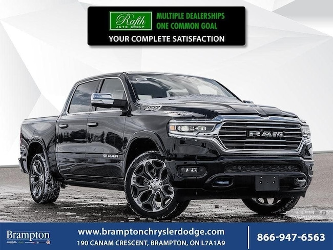 2019 Ram All-New 1500 Laramie Longhorn|NAV|12 INCH TOUCHSCREEN|PANORAMIC Truck Crew Cab