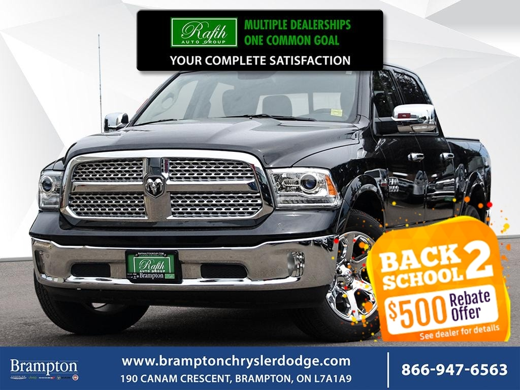 2017 Ram 1500 LARIME*ONE OWNER*CLEAN CARFAX*LEATHER*SUNROOF*NAV* Camion