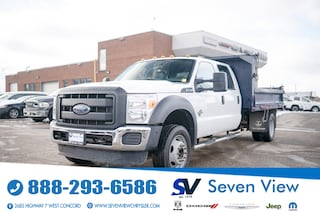 2014 Ford F-550 Chassis XLT DIESEL/12 FT DUMP TRUCK Truck Crew Cab