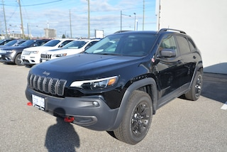 2019 Jeep New Cherokee Trailhawk SAFETEC PACKAGE, LEATHER, REMOTE STARTER SUV
