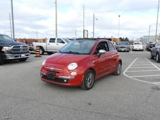 2012 FIAT 500c Lounge LEATHER/CONVERTIBLE/6 SPEED Convertible