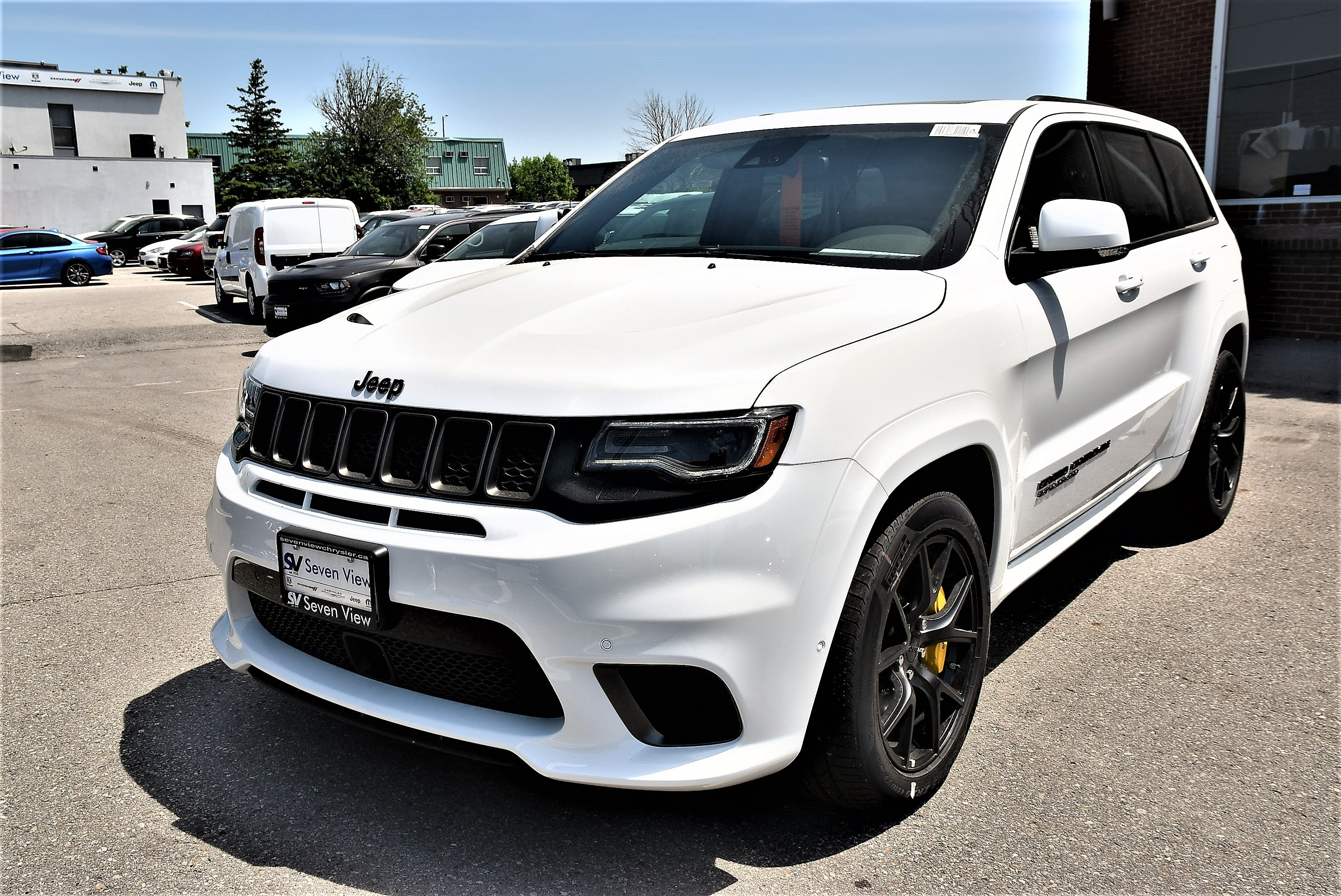 2018 Jeep Grand Cherokee Trackhawk|4X4|LEATHER|TRAILER TOW GROUP|NAV|PANO S SUV