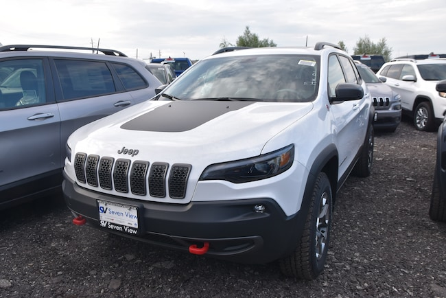 2019 Jeep New Cherokee Trailhawk LEATHER/NAVI/SUNROOF/SAFETYTEC SUV