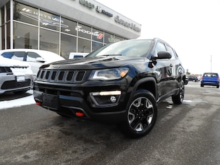 2018 Jeep Compass Trailhawk NAVI/ADVANCED SAFETY GROUP/LEATHER/FULL SUNROOF/UCONNECT SUV