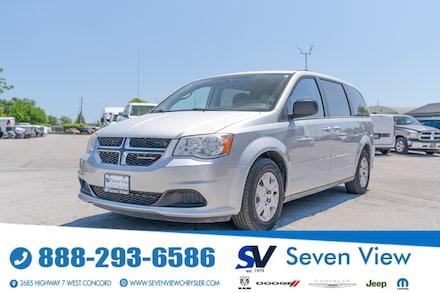 2012 Dodge Grand Caravan SE REAR HEAT AND AIR/REAR STOW AND GO Van