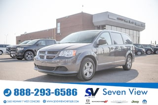 2018 Dodge Grand Caravan SE PLUS FULL STOW AND GO/REAR HEAT AND AIR Van Passenger Van