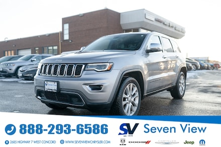 2017 Jeep Grand Cherokee Limited FULL SUNROOF/UCONNECT/BLIND SPOT DETECTION SUV