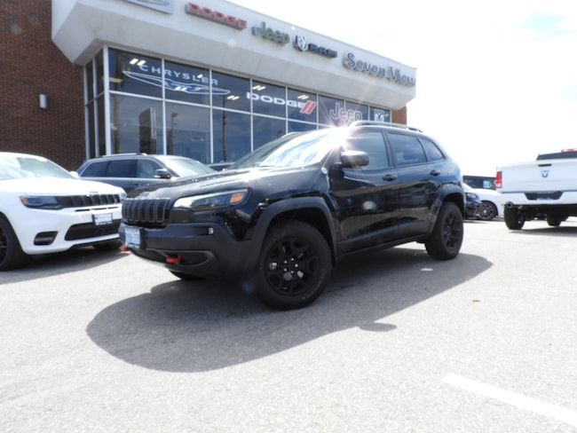 2019 Jeep New Cherokee Trailhawk LIKE NEW, LEATHER, 2.0 TURBO ENGINE !!! SUV