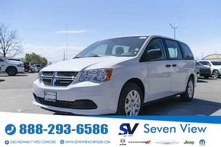 2020 Dodge Grand Caravan SE PARKVIEW CAMERA/REAR STOW AND GO Van