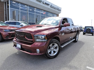 2018 Ram 1500 Sport DIESEL/LEATHER/SUNROOF/ONLY 14,000 KM'S  Truck Crew Cab