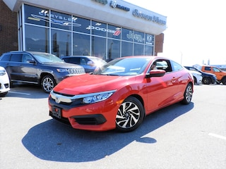 2018 Honda Civic LX 6 SPEED/ALUMINUM WHEELS/REAR CAMERA Coupe