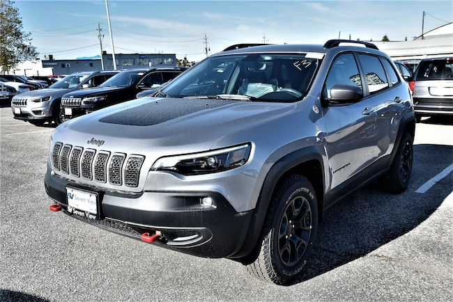 2019 Jeep New Cherokee Trailhawk LEATHER, REMOTE STARTER, HEATED SEATS !! SUV