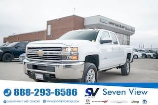 2017 Chevrolet Silverado 2500HD LT BLUETOOTH/REAR SENSORS/REAR CAMERA Truck Double Cab