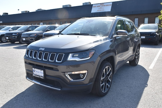 2019 Jeep Compass Limited|4X4|LEATHER|PWR LIFTGATE|NAV|PANORAMIC SUN SUV