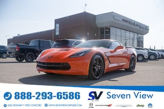 2019 Chevrolet Corvette Stingray Z51 NAVI/TECH PACKAGE ONLY 23,000 KM'S Coupe