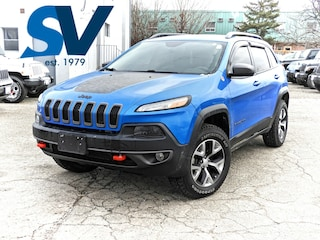 2018 Jeep Cherokee Trailhawk NAVI/LEATHER/SUNROOF/ONLY 16,000 KMS SUV