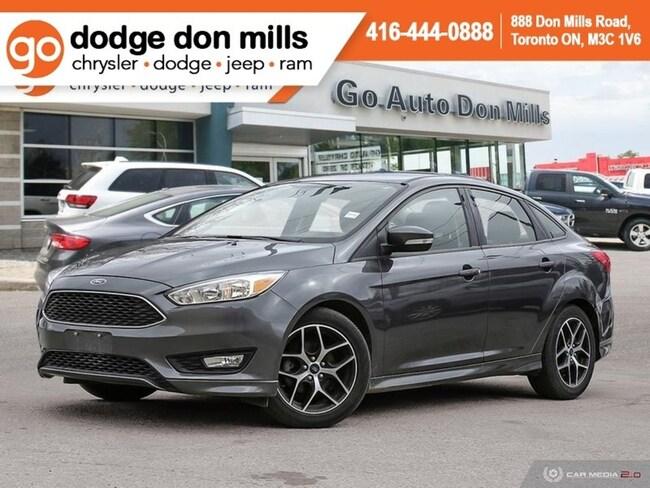 2017 Ford Focus SE - Bluetooth - Heated Seats - Back up Camera - R Sedan