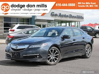 2015 Acura TLX V6 Elite - Navigation - Leather - Adaptive Cruise Sedan