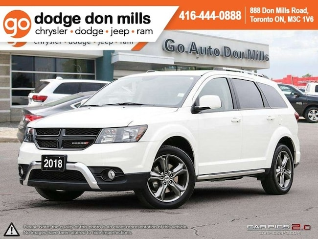 2018 Dodge Journey Crossroad AWD - Leather - Heated Seats - Remote St SUV