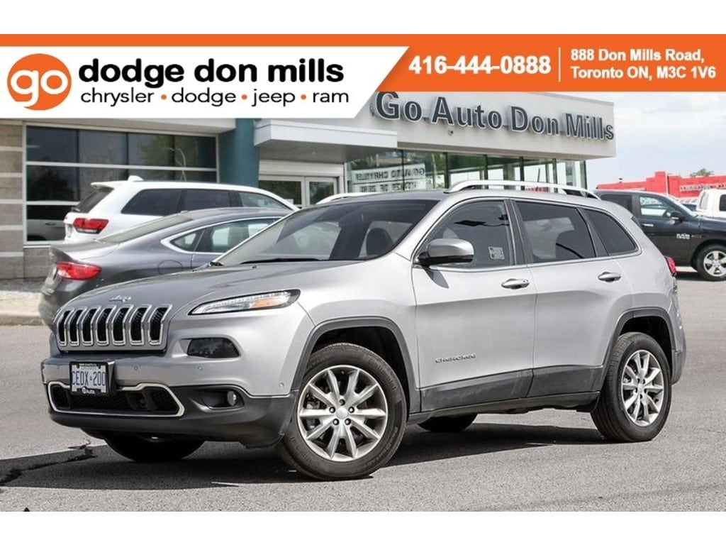 2018 Jeep Cherokee Limited  Company Demo 4X4 NAV Leather SUV