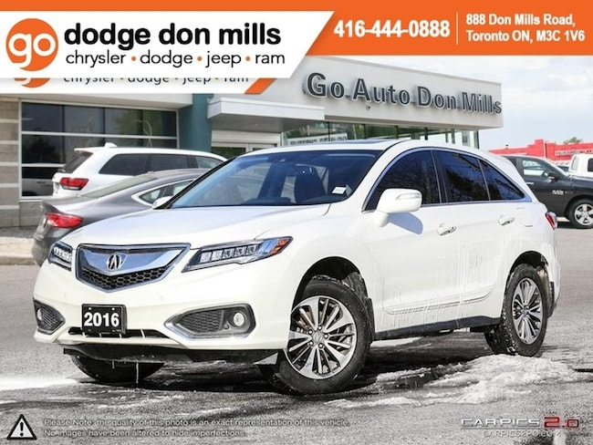 2016 Acura RDX Elite - Technology Package - Elite Package - Fully SUV