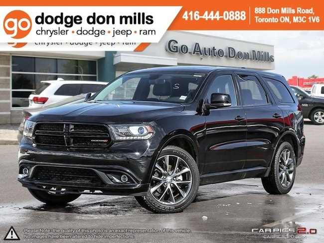 2018 Dodge Durango GT - Leather - Sunroof - Navigation - Dual DVD SUV