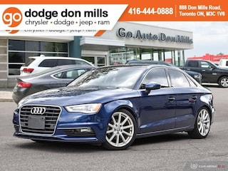 2015 Audi A3 Technik - Diesel - Leather - Sunroof - Bang & Sedan