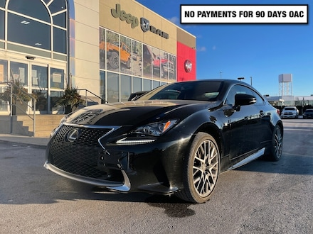 2017 LEXUS RC Clean Carfax * Red Leather * Navigation * Sunroof  Coupe
