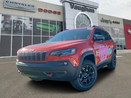 2021 Jeep Cherokee Trailhawk 4x4 for sale in Vaughan, ON