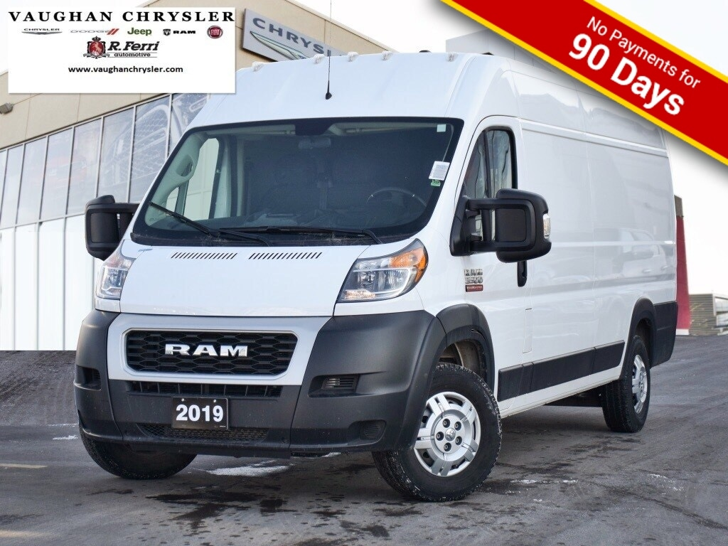 2019 Ram Promaster Cargo Van 3500 High Roof Ext 159  WB * Clean Carfax *