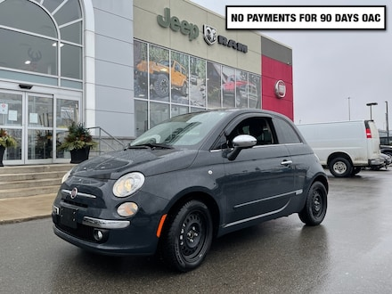 2017 FIAT 500 1 Owner * Lounge * Factory Warranty * Automatic Hatchback