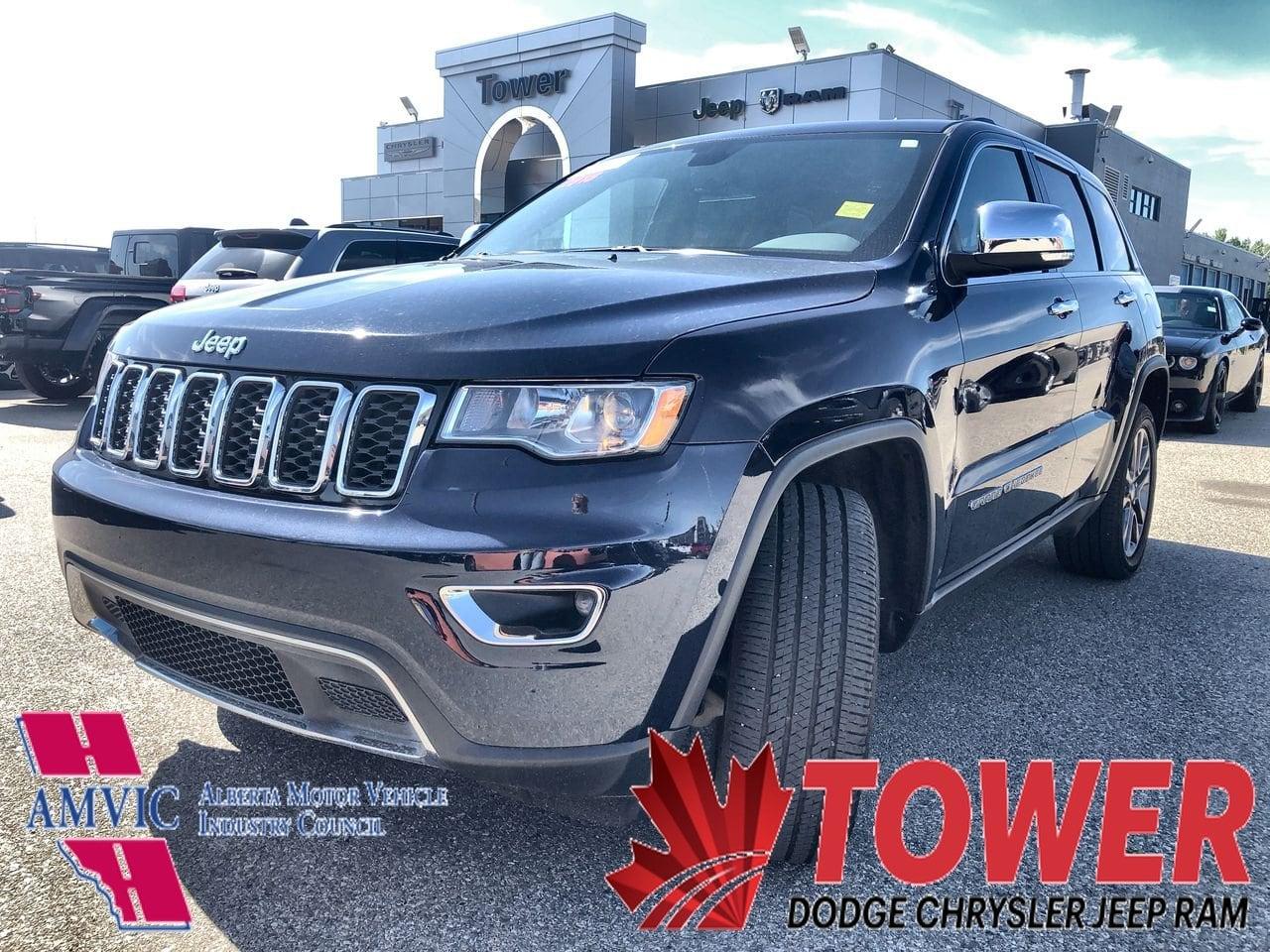 2018 Jeep Grand Cherokee Limited - MEMORY SEAT SUV