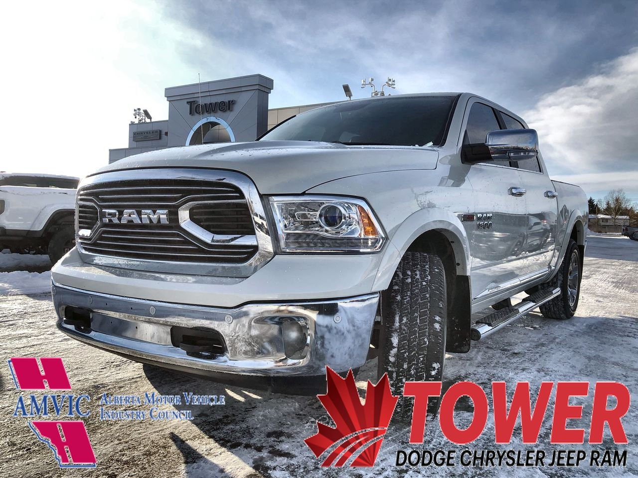 2018 Ram 1500 Limited Limited 4x4 Crew Cab 57 Box *Ltd Avail*