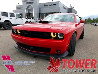 2016 Dodge Challenger Scat Pack Shaker - DUAL TONE RED & BLACK INTERIOR Coupe