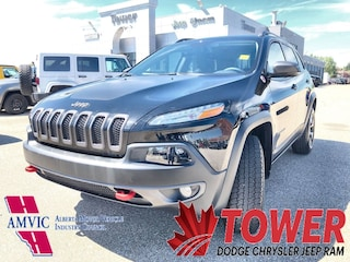 2018 Jeep Cherokee Trailhawk Leather Plus - HEATED/ VENTILATED SEATS SUV